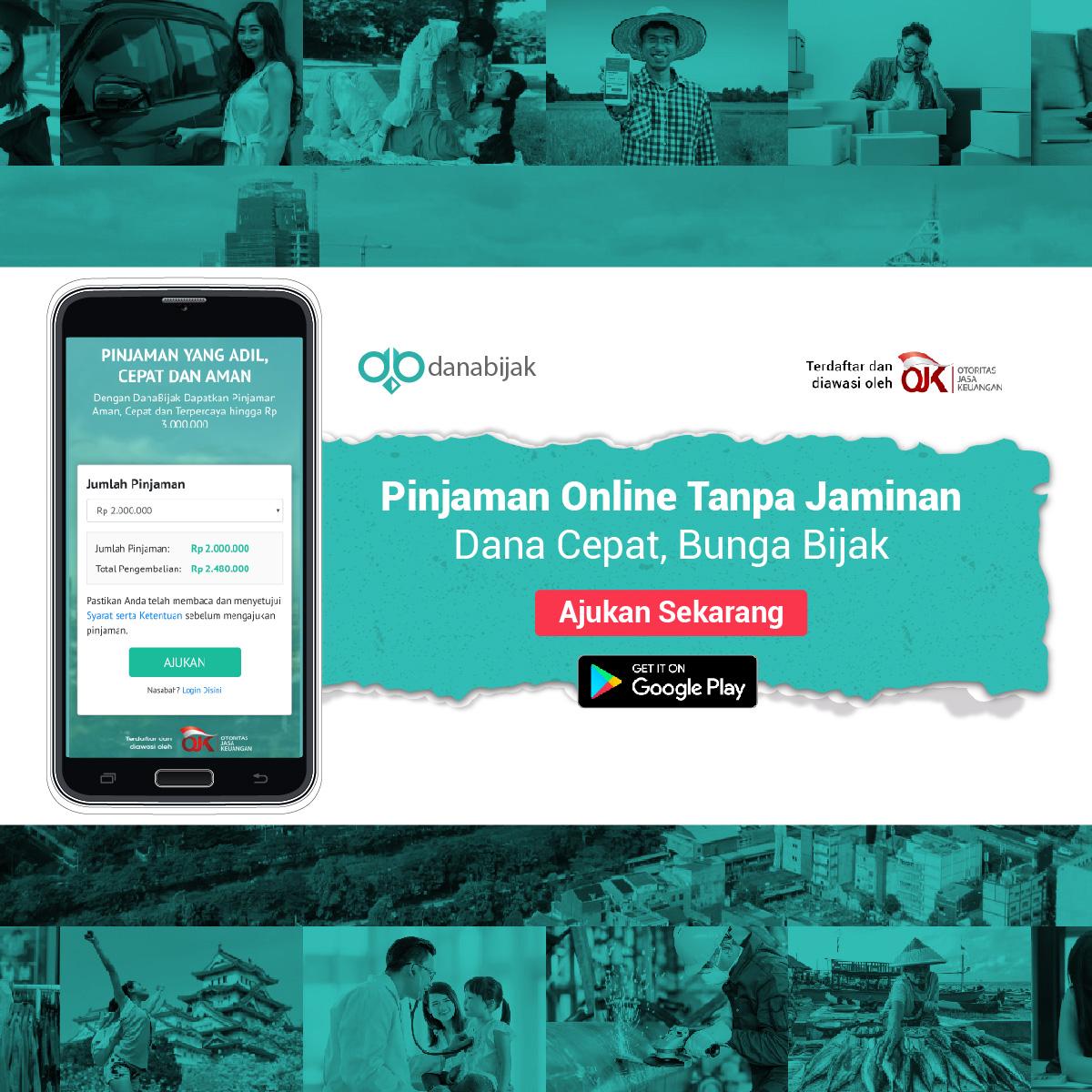 Danabijak Pinjaman Online Tanpa Jaminan Dana Cepat Bunga Bijak